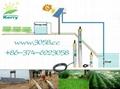 dc solar water deep well irrigation pump