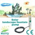 solar fountain water pump 12v