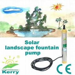 solar fountain water pump 12v