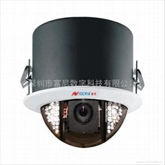 索尼高清点阵半球高清摄像机360度持续旋转