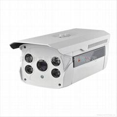 索尼防水四灯点阵红外100米安防监控摄像机