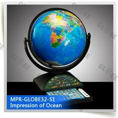 12inch MPR talking globe educational toys Christmas Gifts Talking Toys S1