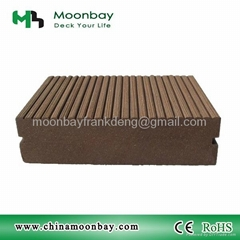 WPC decking floor WPC board wood plastic