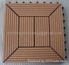 Easy installation WPC outdoor DIY floor