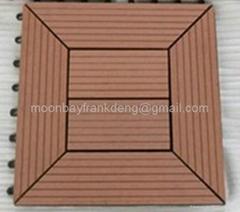 Garden DIY deck floor tiles