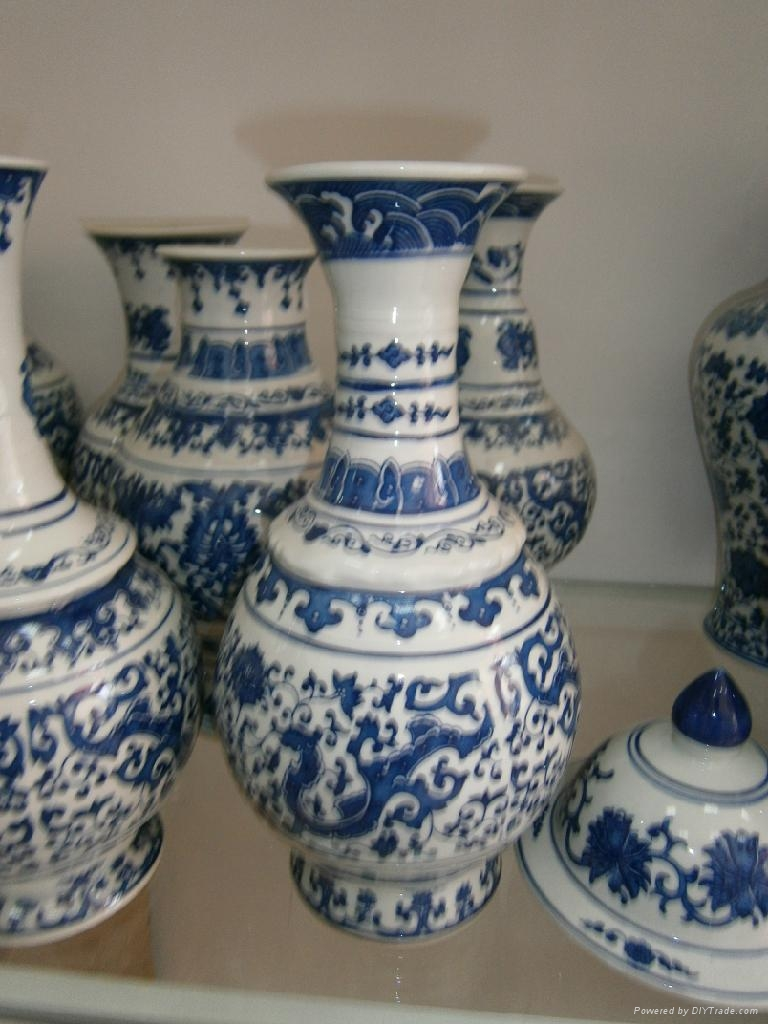 Wholesale Antique Chinese Blue And White Porcelain Vases Ys1107010 Yaosheng Ceramics China