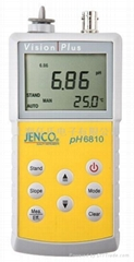 美国JENCO便携式酸度计测定仪6810