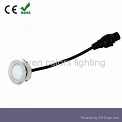 Outdoor IP6712V Waterproof Round Plastic LED Deck Light