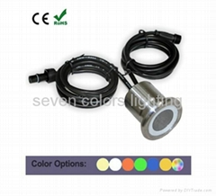 High bright RGB double-end square&garden Led underground light