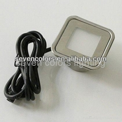 12V Stainless Steel Outdoor Square Led Patio Light