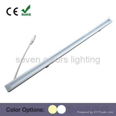 12V CE&ROHS Approved Long Lifespan Aluminum LED Rigid Strip Light Ceiling Using 1