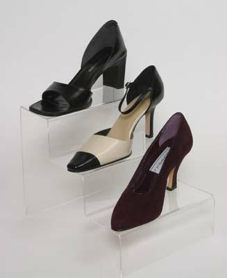 Acrylic Shoes Display Rack for Stores and shops 2