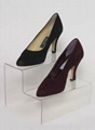 Acrylic Shoes Display Rack for Stores and shops 3
