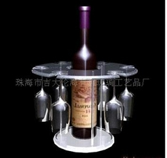 Acrylic Wine Rack acrylic Wine Holder and Stand