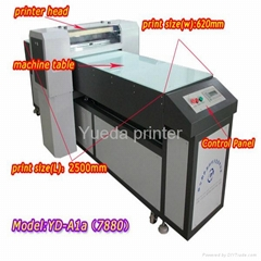 Eco Solvent Leather Inkjet Printer (With Epson Printhead)YD-7880C