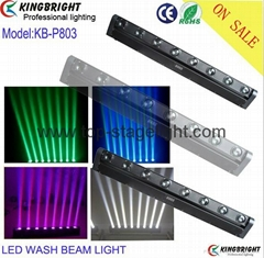 RGBW colorful 8x10W Led disco light Pixel Beam Bar