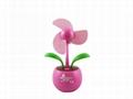 flower USB mini fan