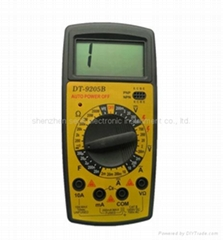 best multimeter digital dt9205b