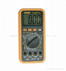 digital multimeter manual vc890d+