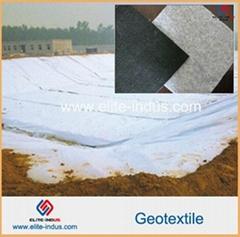 Polypropylene Polyester PP PET non wovens short fiber geotextile
