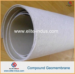 With Nonwoven Geotextile And Membrane Compound Geomembrane