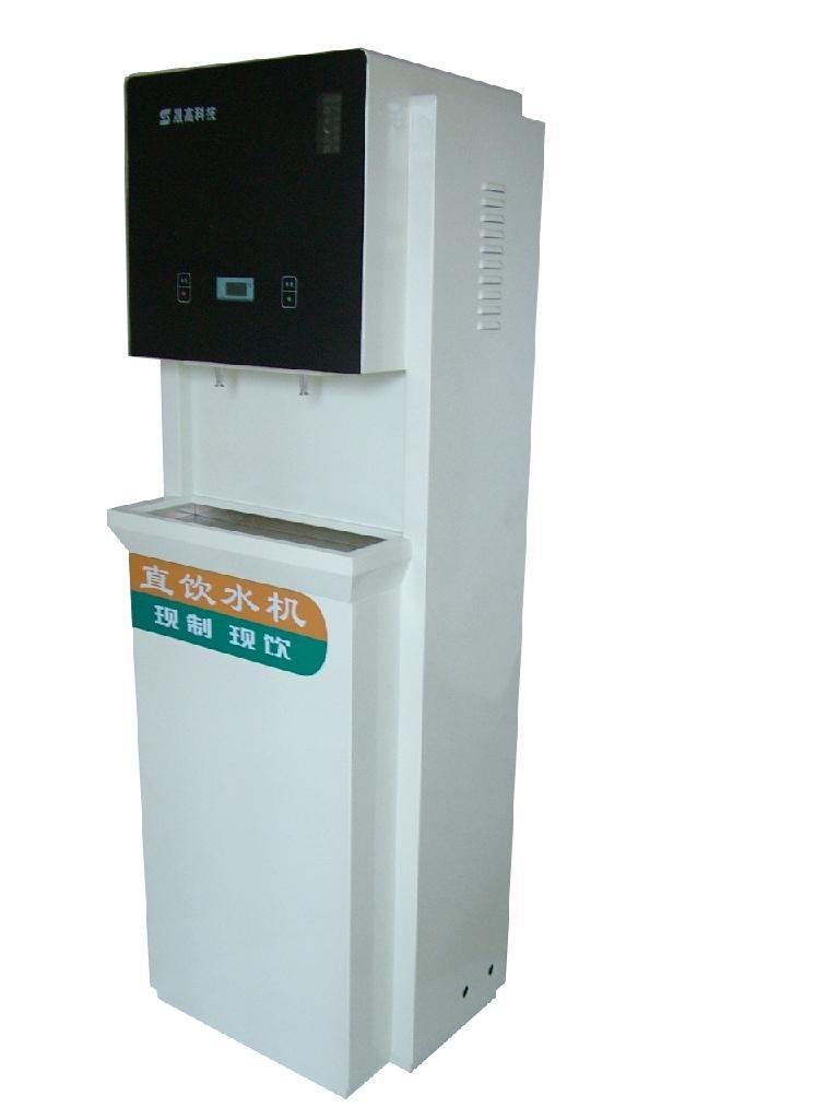 智能豪华型节能商务直饮机采用步进式加热 2