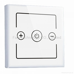 one gang touch dimmer switch of home automation smart touch dimmer switch