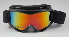 Fashion ski goggles for kids with UV400
