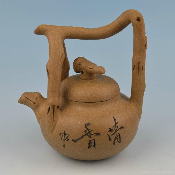 Clay(Yixing) Teapot YX009 1