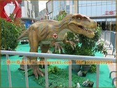 仿真霸王龙恐龙模型