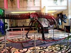 恐龍化石製作廠家霸王龍骨架展示