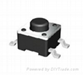 Tact Switch Dmension: 6*6*H (4.3mmH~17mmH) SMT 1