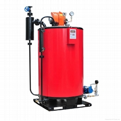 0.1-1T Vertical fuel oil (gas) steam boiler