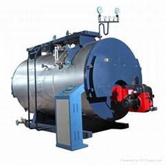 Horizontal fuel oil (gas) steam boiler
