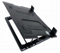 five angle adjust laptop cooling stand