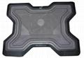 X shape ergonomic notebook cooler