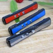 three difference colours powerpoint wireless presentation laser pointer