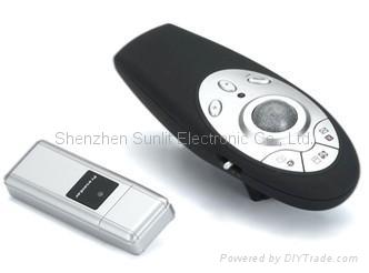 Factory direct sale Hyperlink powerpoint wireless presentation laser pointer  3