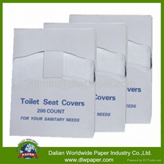 100% virgin pulp paper Toilet Seat Cover For Travel Pack