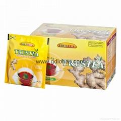 Ginger flavor sweet black tea