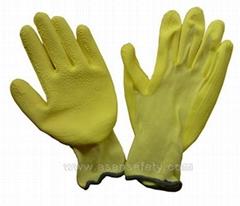 foam latex glove