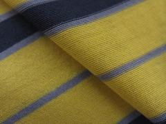 60Smercerized color-stripe single jersey