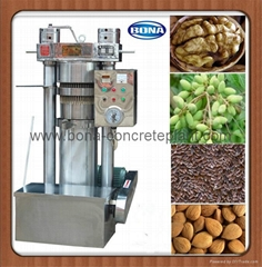 Sesame hydraulic oil press machine QYZ-260 with good quality