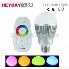 remote control wifi control RGB LED Bulb Light  6w-10w