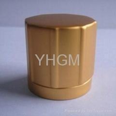 perfume bottle cap aluminum cap 15mm