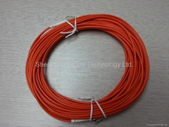 LC to LC Multimode Fiber Cable