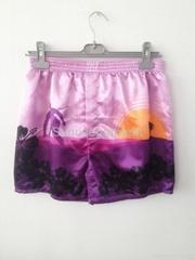 Women satin fashion shorts