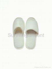 Hotel white slipper