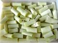 4cm IQF/Frozen white scallion pieces
