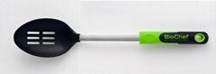 Nylon Utensil - Stainless Steel Shaft Nylon Slotted Spoon